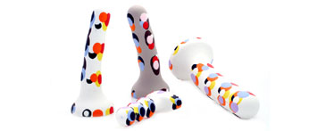 Millefiori dildos by Babes'n'Horny