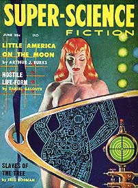 Pulp Science Fiction Cover